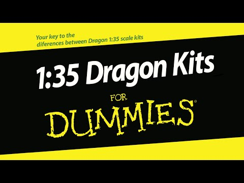 1:35 Dragon model kit types: An Overivew
