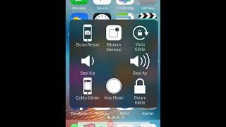 iPhone Sanal Tuş Kullanımı ve Ram Temizleme
