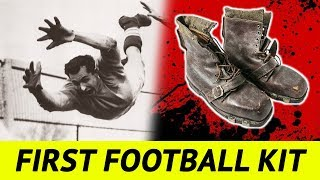 The Early Football Kits of the 19th Century: From Heavy Jerseys to Army Boots