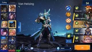 Liên quân mobile: Hướng dẫn chơi Van Helsing - Thợ săn ác quỷ bá đạo