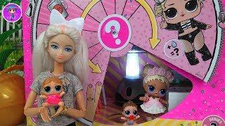 Pijamada DENTRO de una Confetti Pop con las muñecas LOL Surprise - Juguetes para niños y niñas