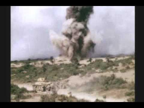 WW II : RARE COLOR FILM : NORTH AFRICA