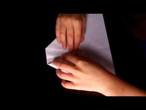 how to make a 2012 world record breaking paper airplane