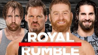 WWE Royal Rumble 2018 Dream Match Card Predictions