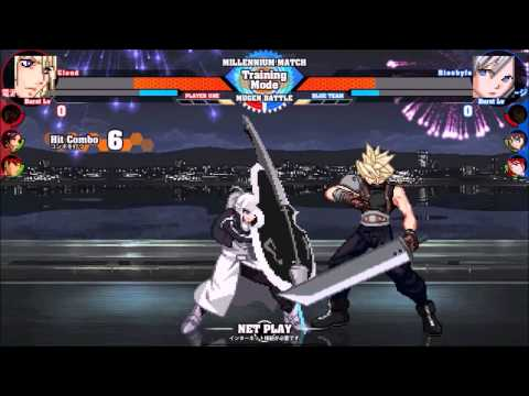 MUGEN: Crossover Evolution #102 - Team Battle #21 (New Year Battle 2014 )