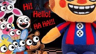 Fnaf Plush - Hi! Hello! HA HA!!!