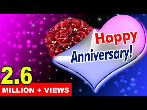Wedding / Marriage Anniversary Video Greetings