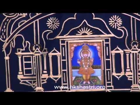Hindola Utsav Jyot Prabhavika Hindola 06 Aug 2013 Hindola Darshan Swaminarayan Temple Gandhinagar video
