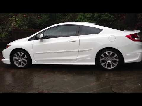 2012 Honda Civic SI with HFP body kit and HFP suspension