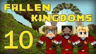 Fallen Kingdoms : Frigiel, Zelvac, Playfan | Jour 10 - Minecraft