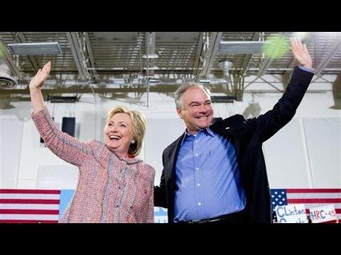 Sen. Tim Kaine Is Clinton's VP Pick