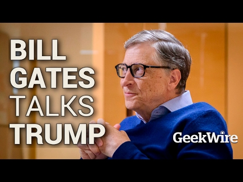 Bill Gates Talks Trump
