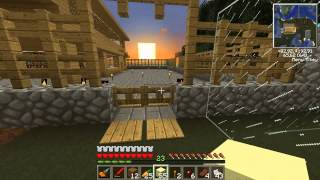 Minecraft. Industrial Survival #15. Ферма кактусов.