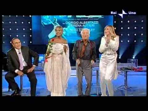 Serena Autieri, Amii Stewart cantano con Giorgio Albertazzi e Marco di Gennaro a Domenica In