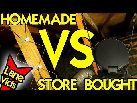 HOMEMADE HDTV ANTENNA VS STORE BOUGHT ANTENNA