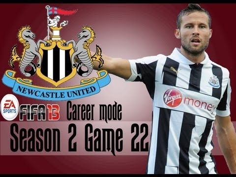 FIFA 13 Career Mode Coach - Newcastle United S2 G22 vs Tottenham Hotspurs