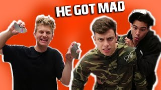 I BROKE CHANCE AND ANTHONY'S VIDEO GAME **PRANK WARS**