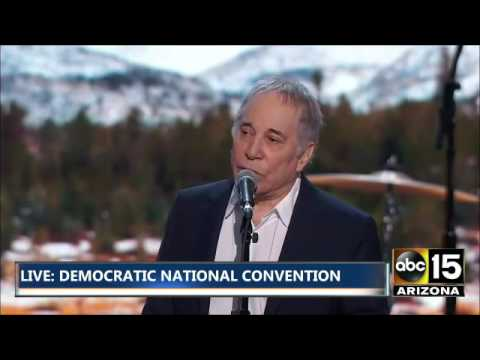 Paul Simon for Hillary Clinton - DNC