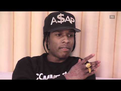 A$AP Rocky Talks New Album, Fashion, Azealia Banks & Iggy Azalea With Punchbowl TV!