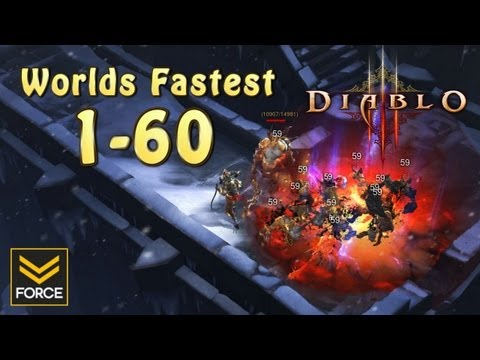 Diablo 3 - Worlds Fastest Solo Power Leveling Trick