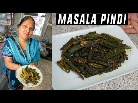 Masala Bhindi - Bhindi I Bhindi Recipe I Fry Bhindi I Punjabi
