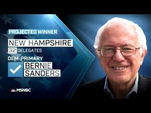 News Projects Bernie Sanders And Donald Trump Win New Hampshire Primary!