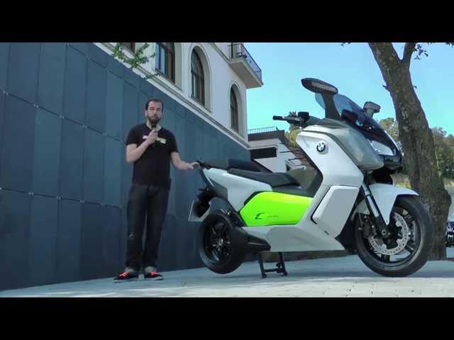 Vid�o Essai BMW C Evolution (s�rie) : Que vaut (vraiment) la Rolls des maxi scooters �lectriques ?