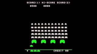 Space Invaders Arcade - High Score How To - MAME - 21740 Point Run