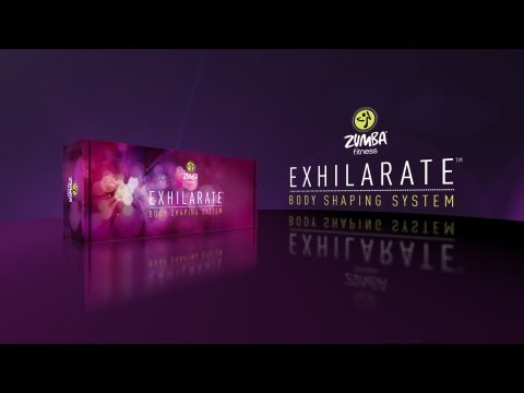 Zumba   Exhilarate Body Shaping System    4 Dvd Set  Extended