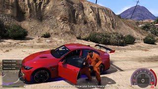 GTA 5 - Sát thủ siêu nhọ bị anh đại dàn cảnh cướp xe | ND Gaming