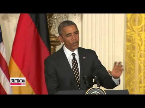 U.S. may send arms to Kiev if Ukraine talks fail: Obama   오바마-메르켈, 내주 백악관서 우크라 논