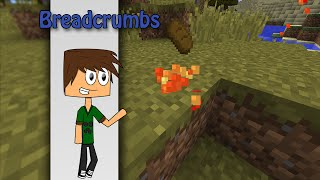 Minecraft - Breadcrumbs with only one command | Vanilla Minecraft
