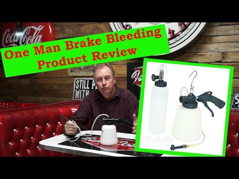 Harbor Freight One Man Brake Bleeder Product Review