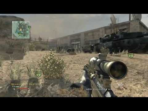 Call Of Duty: MW3 - 360 No Scope Silent Shot