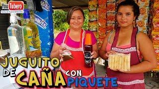 El Juguito de Caña con Piquete, Carretera a Cojutepeque, El Salvador SVL SV YS