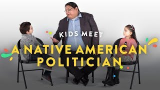 Kids Meet a Native American Politician