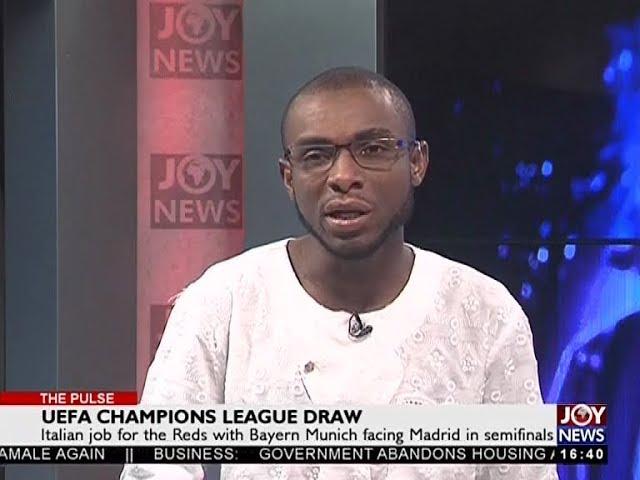 UEFA Champios League Draw - The Pulse Sports on JoyNews (13-4-18)