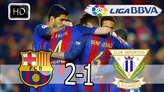 Targets match Barcelona and Leganes  [Full Screen]Quality [HD]
