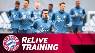 ReLive | FC Bayern Final Training ahead of Ajax Amsterdam (First 15 minutes)