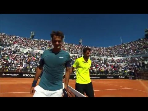 Chardy Digs Deep To Oust Federer In 2014 Rome Classic Moment