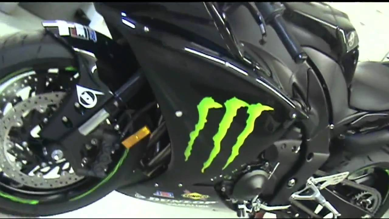 Monster Energy Drink Promotional Graphic Kit 2011 Yamaha