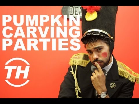Pumpkin Carving Parties - Trend Hunter Fun Day