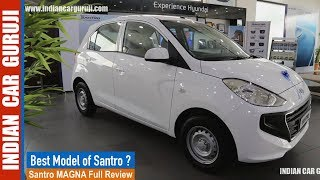 New Santro Magna Model Full Review with Price,Interior,Exterior and Features