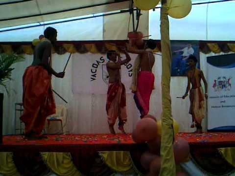 Ude ga ambe Dance in Mauritius