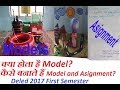 How to make Model And Asignment? in Deled 2017 By Grand knowledge hub