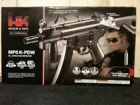 Airgun review: Umarex H&K MP5 K PDW BB Repeater