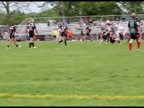 2013 USARL 9s - NZ Police vs Barbarians Part 1