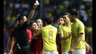 Quang Hải gắt, chỉ mặt cầu thủ Thái triệt hạ Công Phượng | King's Cup 2019