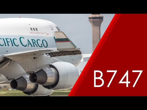 Cathay Pacific Cargo 747-400 Pushback (B-LIE)
