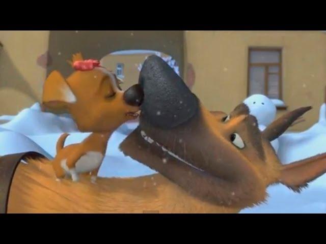 Мультфильмы 2012 - Первый Снег